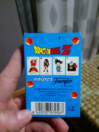 """Juego de naipes """"Dragon ball Z"""""""