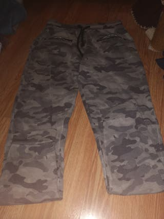 pantalón de chándal militar