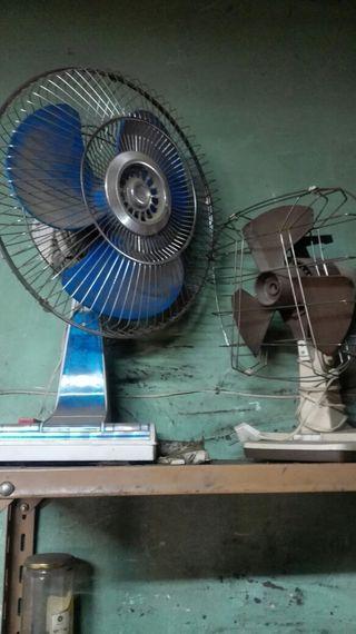 ventiladores antiguos