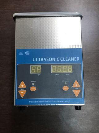 Lavadora ultrasonido con ajuste temperatura