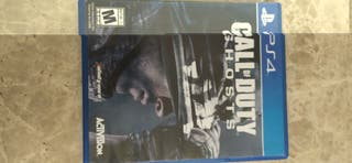 Cambio Call of Duty Ghosts para PS4