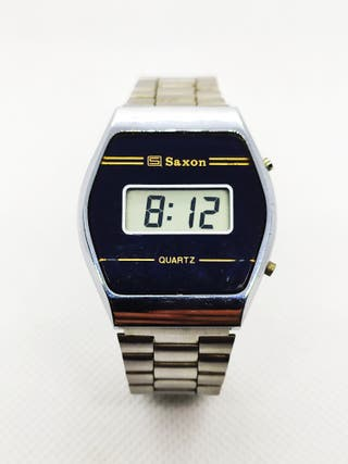 Reloj Digital Saxon De colección