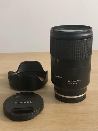 Objetivo Zoom. Tamron 28 - 75 f/2.8 Sony FE