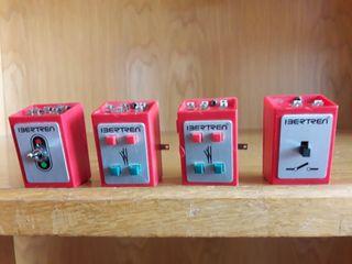 Interruptores para maqueta tren eléctrico