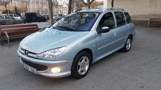Peugeot 206 2006 pegatina ambiental garantia 12 meses