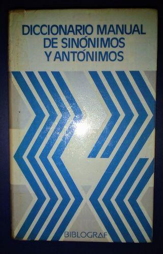 Diccionario de Sinónimos y Antónimos de VOX