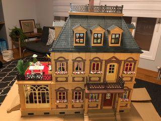 Casa Playmobil 5300 AMUEBLADA