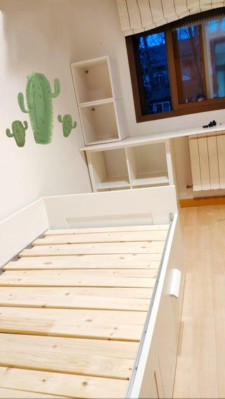 Montaje de Habitaciones estantes escritorios Ikea