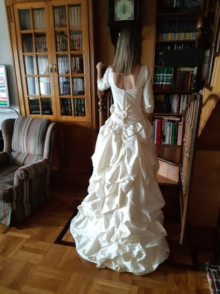 Vestido novia Raimon Bundó