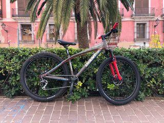 Bici Giant Brass aluminio 26 suspension freno disc