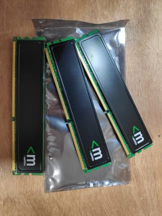 Kit memoria RAM DDR3 total 6GB