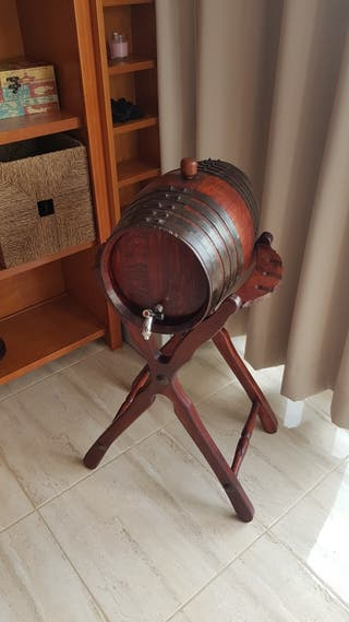 Barril de vino 16 litros. Tonel. Barrica