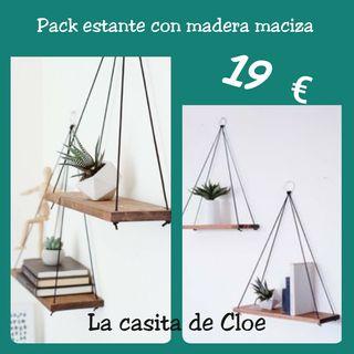 Pack de 2 Estanterías minimalistas