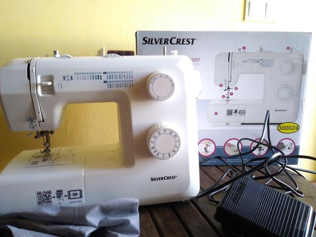 Máquina de coser SILVERCREST de Lidl de segunda mano por