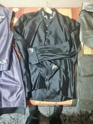 traje de saraguey seda salvaje exclusivo