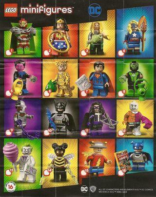 figuras Lego DC originales sueltas