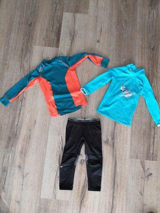 ropa térmica esquí niño/a