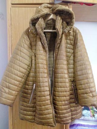 abrigo reversible precioso talla xxxl