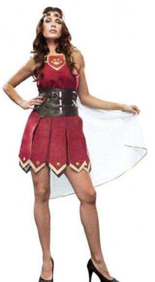 Disfraz Guerrera Gladiadora Romana NUEVO
