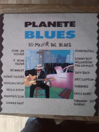 PLANETE BLUES - VARIOS ARTISTAS 2 LPS