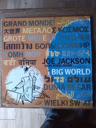 JOE JACKSON - BIG WORLD 2 LPS