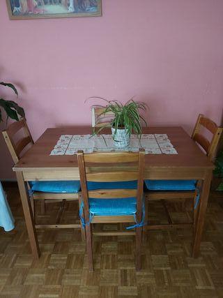 mesa-comedor, aparador