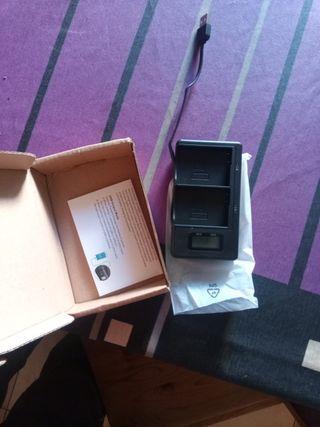 cargador bateria en-el14 y en-el14a para nikon