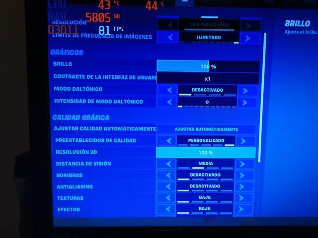 Ordenador gaming ideal FORTNITE