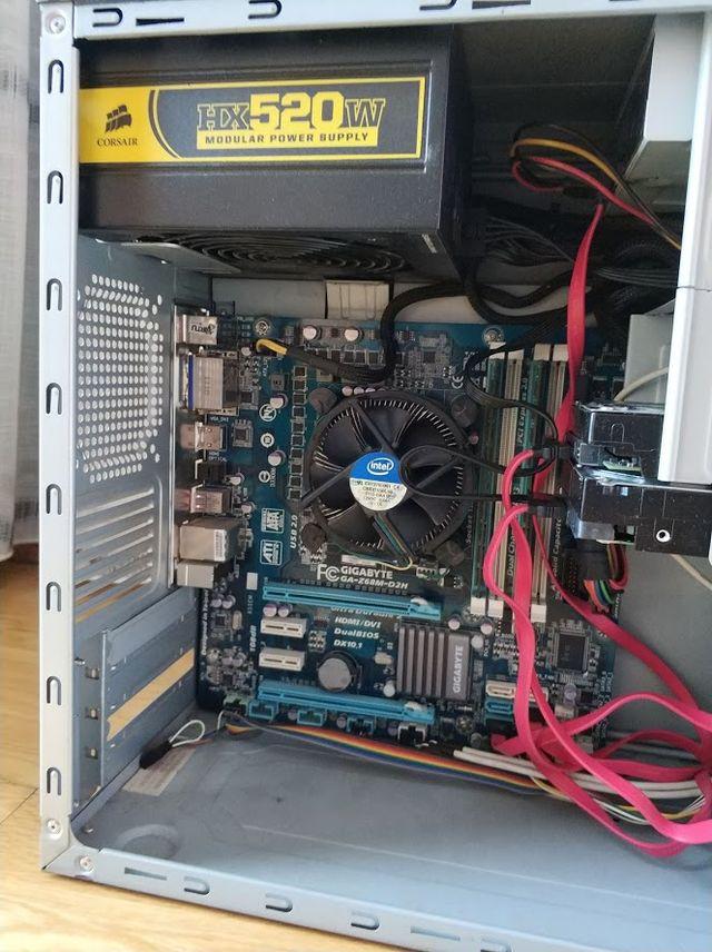 Ordenador PC Intel i5-2300, 8GB RAM, 2TB HDD