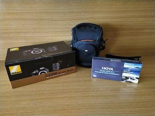 Cámara Reflex Nikon D3300 18-105 VR Kit