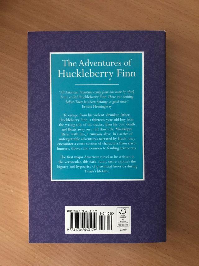 The Adventures of Huckleberry Finn, Mark Twain