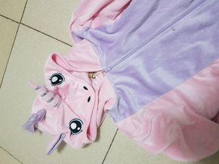 Disfraz mono unicornio