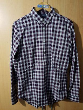 Camisa cuadros hombre talla L