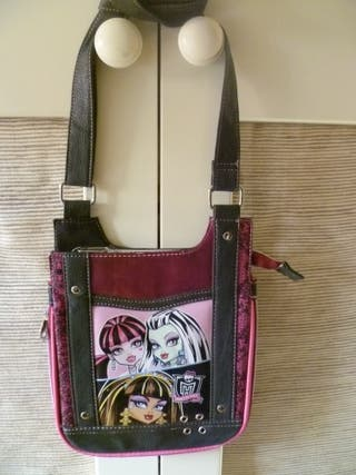 Bandolera niña Monster High. Regalo minibandolera.
