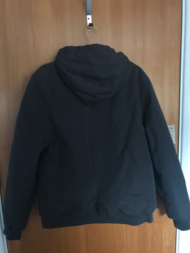 Bomber jacket with hoodie (impermeable)