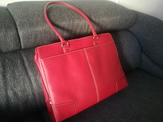 HP maletín portátil de piel