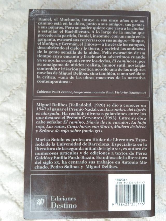 Libro El camino, Miguel Delibes