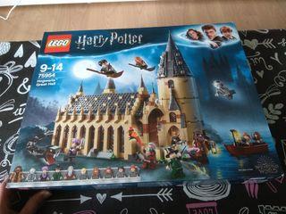 CAJA VACIA Lego Harry Potter Hogwarts great hall