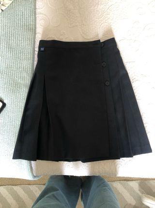 Falda uniforme talla 12