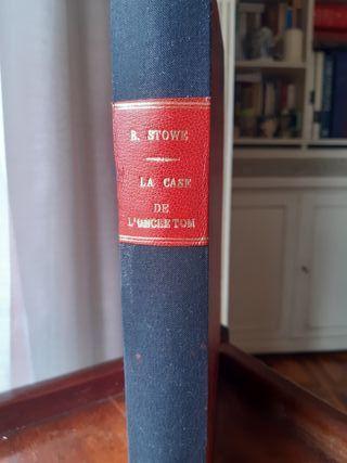 LA CABAÑA DEL TIO TOM.- Literatura Francesa
