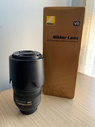 Objetivo Nikon 70-300mm