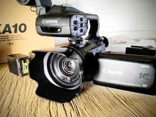 Cámara video canon HD xa10