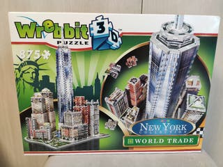 Puzzle Wrebbit 3d New York World Trade