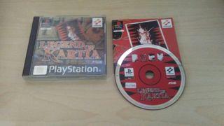 Legend Of Kartia PS1 / PSX Seminuevo