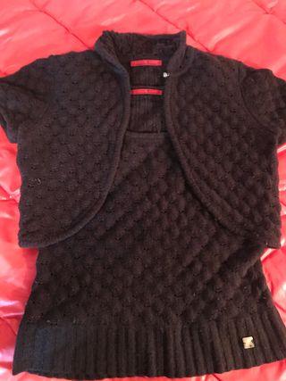 Conjunto camiseta y chaqueta CH mujer