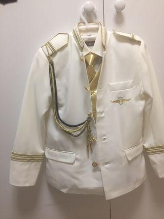 Traje comunión admirante