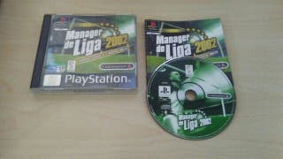 Manager De Liga 2002 PS1 / PSX Seminuevo