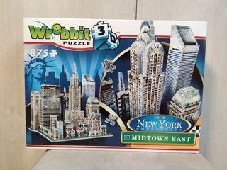 puzzle Wrebbit 3d New York Midtown East