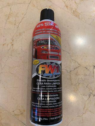 Cera para limpiar vehículos FW1