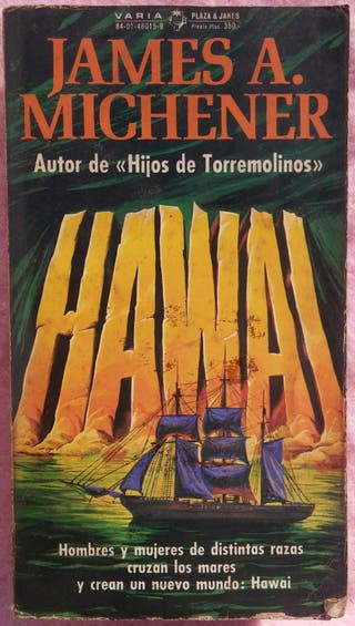 Hawai James A. Michener (Plaza & Janés, 1978)